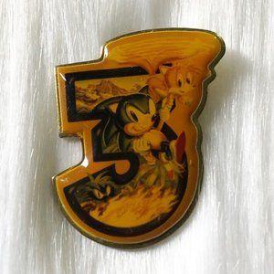 🔮 5/$25 Vintage Sonic the Hedgehog 3 Pin